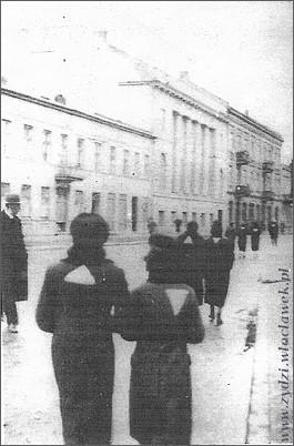 ul.Kościuszki w okupowanym Włocławku